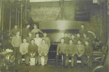 昭和29年設立当時の写真